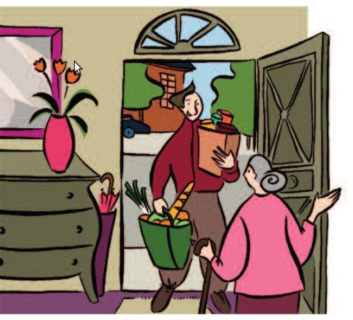 aide, accompagnement, soin et service à domicile