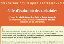 Outils pr vention domicile - Grille d evaluation des risques professionnels ...