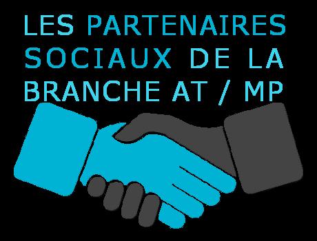 Lien vers le tableau des partenaires sociaux de la branche AT/MP