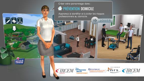 serious game prévention domicile